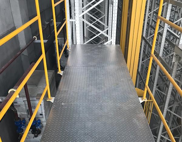 湖州钢平台生产的主要结构